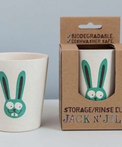 Kids bunny rinse and storage cup by Jack and Jill