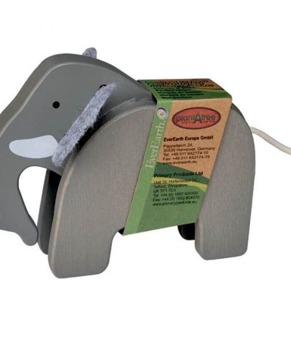 Eco friendly packaging for bamboo elephant