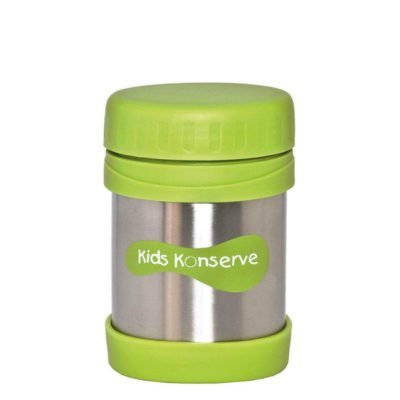 Kids Konserve insulated food jar green