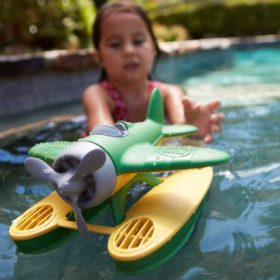 Green Toys floating plane toy