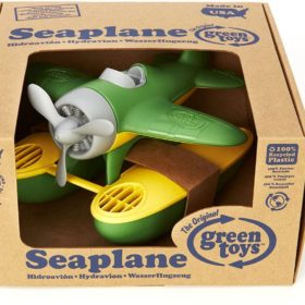 Packaged seaplane toy