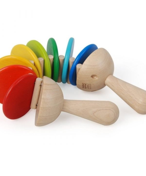 Wooden musical clatter by Plan Toys