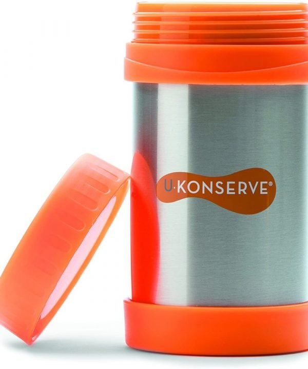 U Konserve Insulated Food Jar Neon Orange