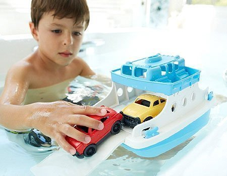 bath and pool ferry boat toy