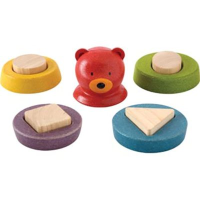 plan toys stacking bear separated