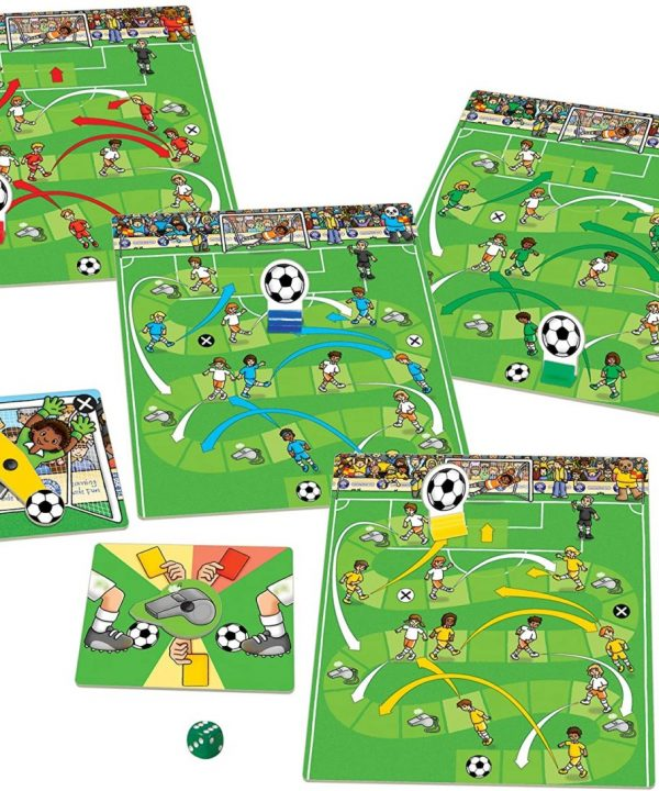 Eco friendly football board game