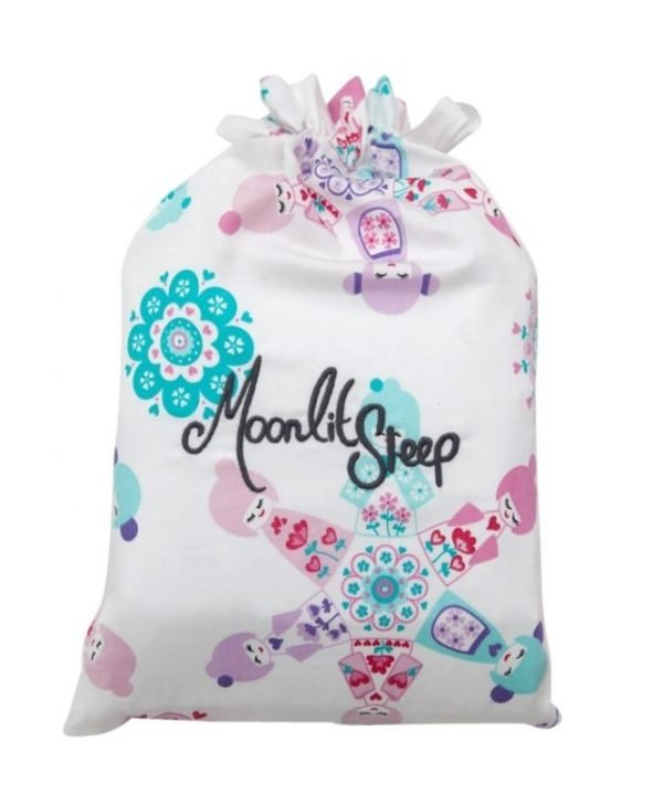Moonlit Sleep sheet set storage bag