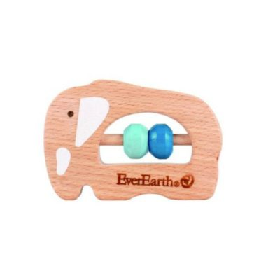 everearth grasping toy elephant