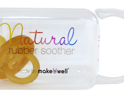 Natural round soother dummy
