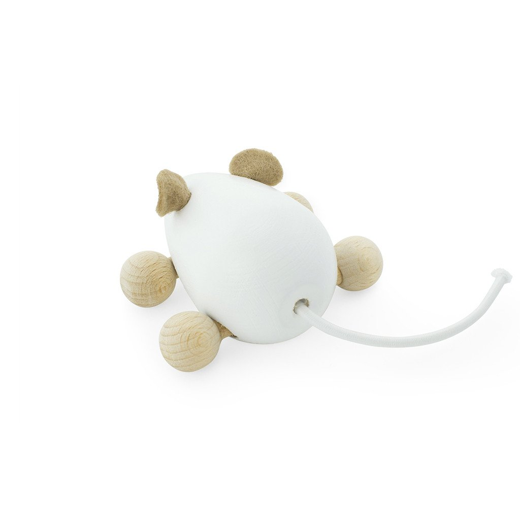 Push mouse toy