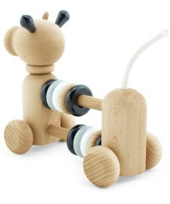 Rear of Miva Vacov Counting frame cow toy