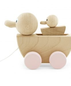 duck and duckling pull toy