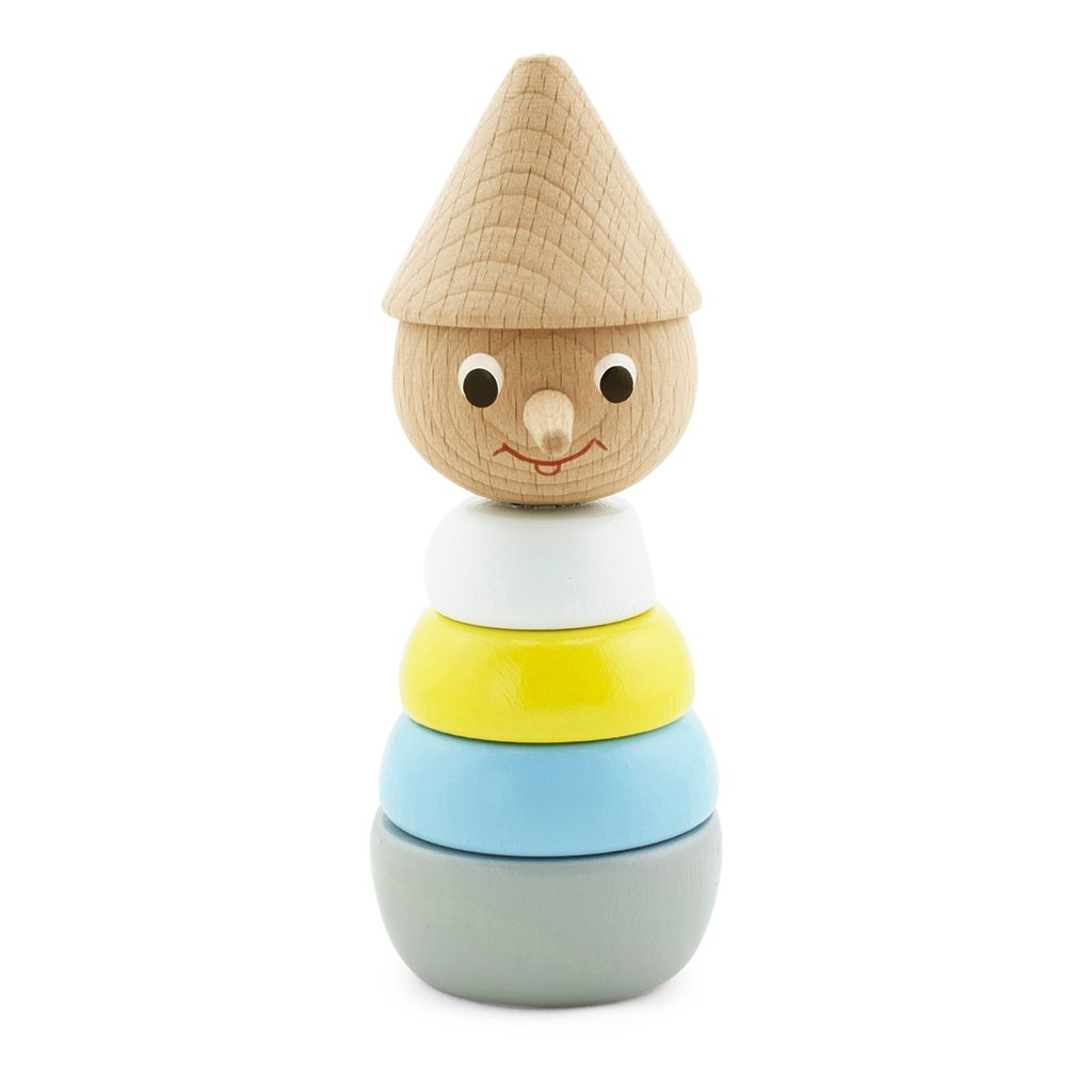 Pinocchio wooden stacking puzzle