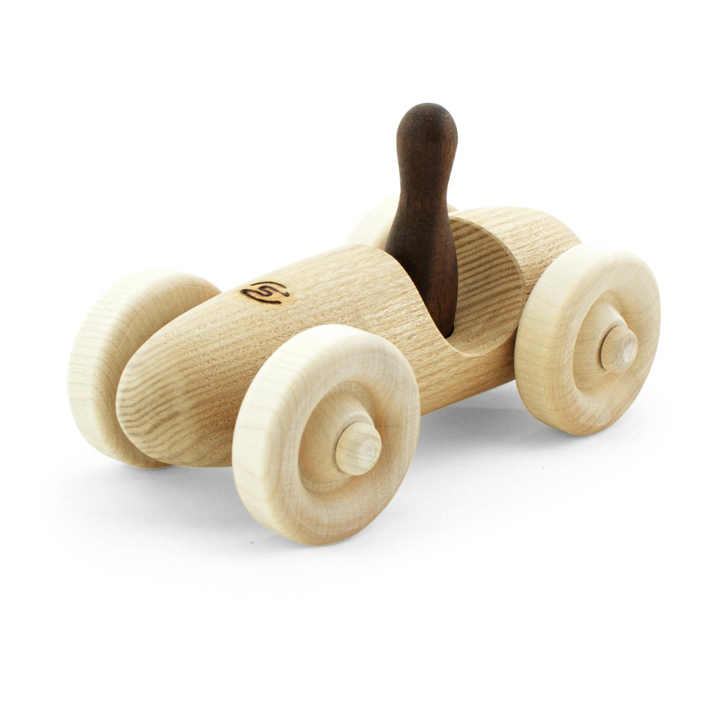 Pislik Toys Wooden Toy Racing Car Lewis