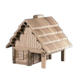 Archa Program Wooden Building Puzzle The Cabin