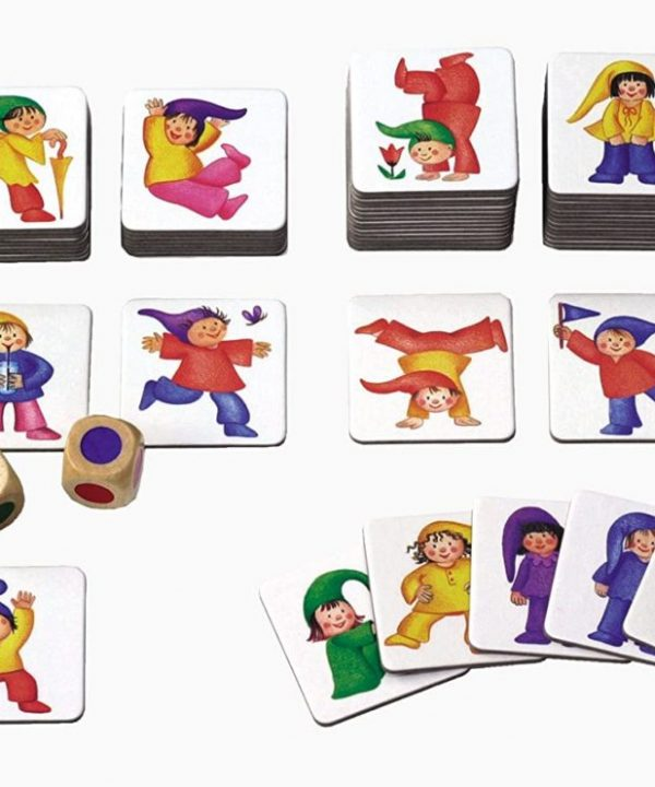 Selecta dwarves and dice matching game