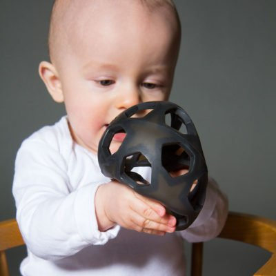 Hevea charcoal star ball