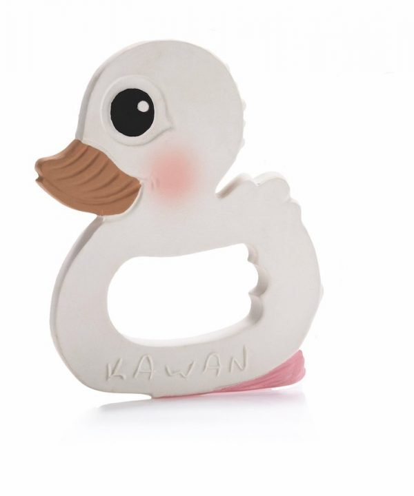 Hevea Kawan duck teether