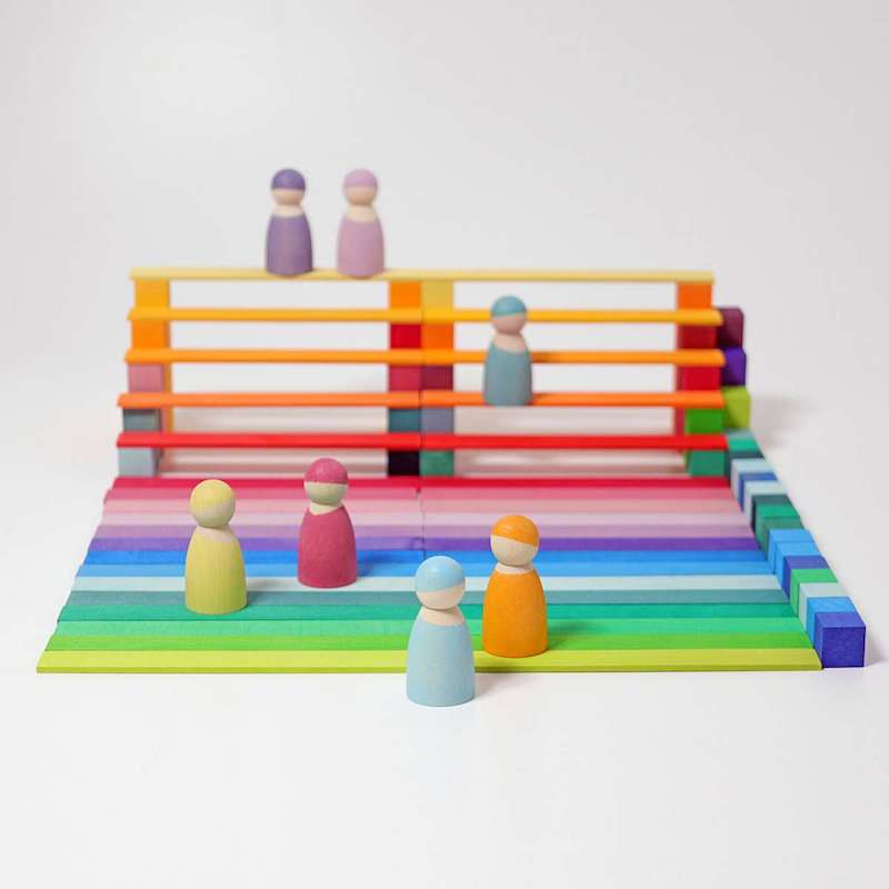 Grimms building block play