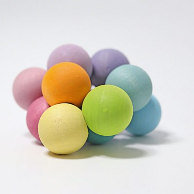 Pastel coloured Grimms beads