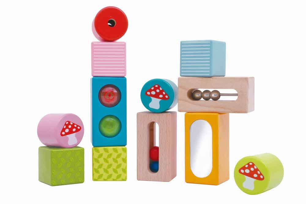 Sound and activity blocks