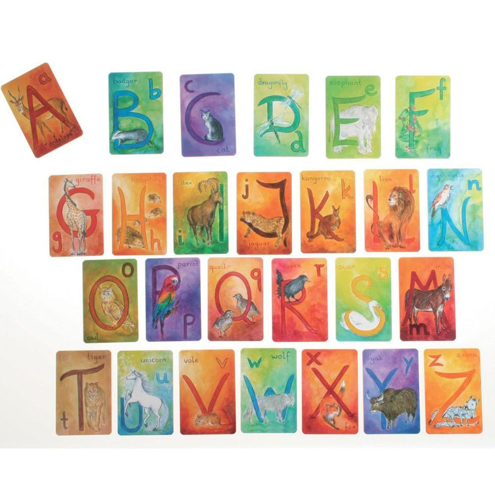 A-Z Waldorf letter cards