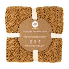 all natural blanket and eco packaging