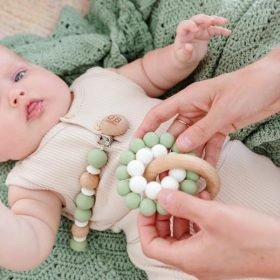 sage teether by Ob Designs