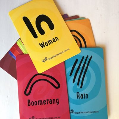 Indigenous symbol cards