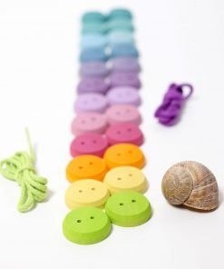 Grimms small wooden buttons set