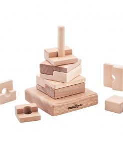 eco wooden stacking puzzle