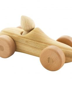 wooden car with driver felix