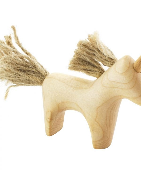 wooden unicorn Madelina