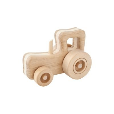 wooden toy tractor rick