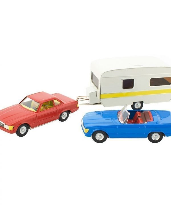 tin toy set - Tin Toy Set - Mercedes Cabrio, Coupe & Caravan