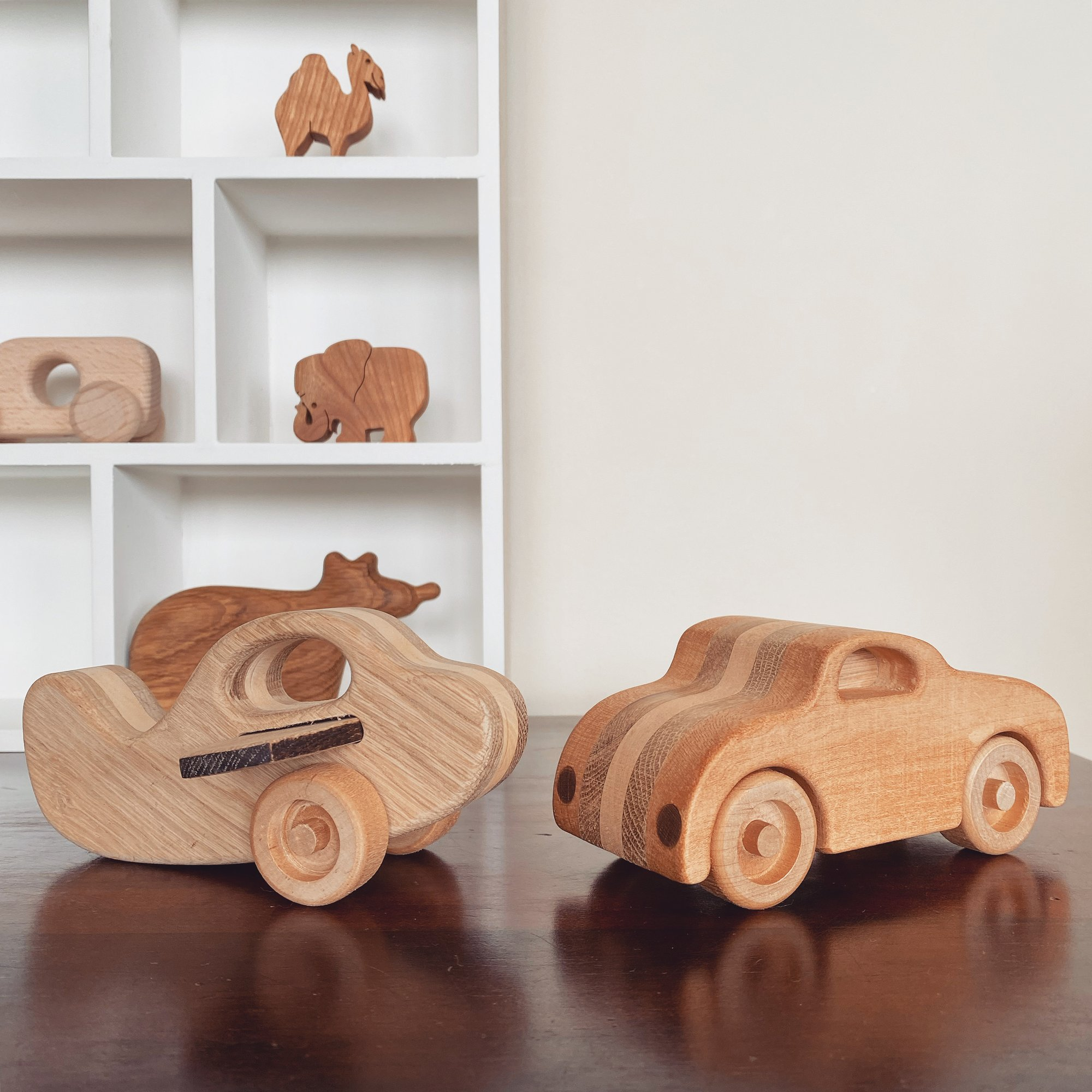 Wooden Car and plane