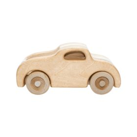 side view Todd wooden car