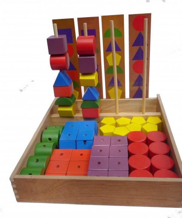 q toys jumbo lacing and sequencing blocks