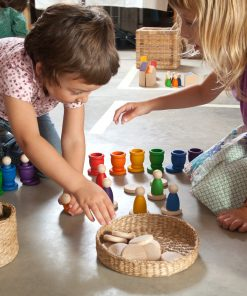 lifestyle image wooden toy play